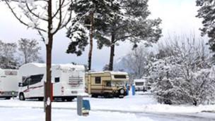 Camping im Winter – Tropical Islands Resort öffnet Campingplatz für Winterträume 2015
