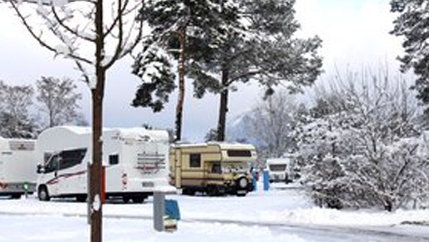 Camping im Winter - Tropical Islands Resort