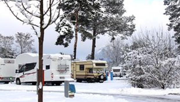 Camping im Winter - Tropical Islands Resort