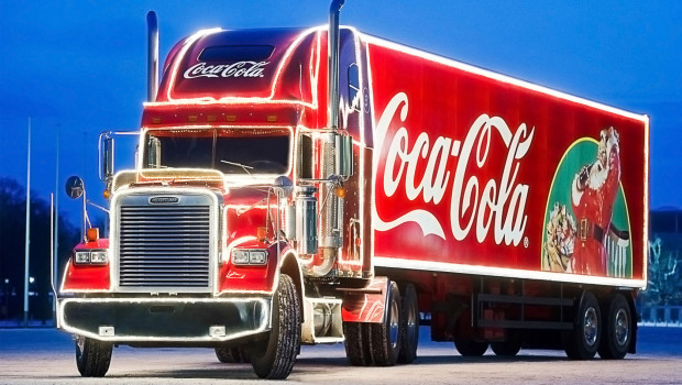 Coca-Cola Weihnachtstruck am LEGOLAND Deutschland