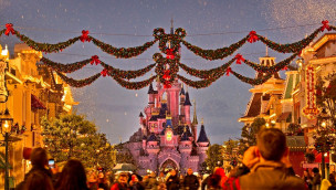 Disneyland Paris im Winter