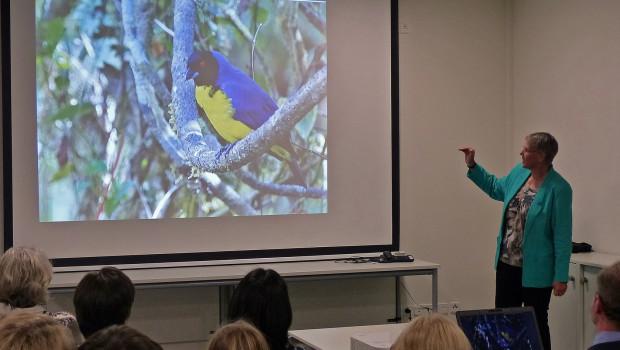Dr. Brieschke - Vortrag im Exotenhaus von Zoo Karlsruhe