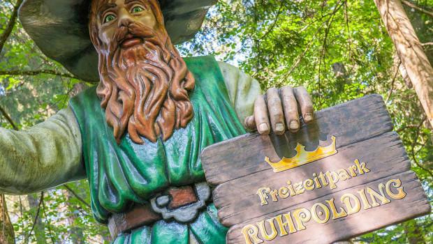 Freizeitpark Ruhpolding - Eingang