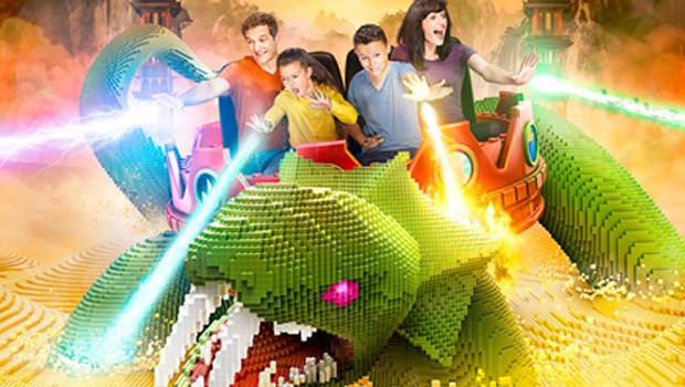 LEGO NInjago Rides 2016