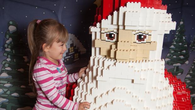 LEGO-Weihnachtsmann im LEGOLAND Discovery Centre Berlin