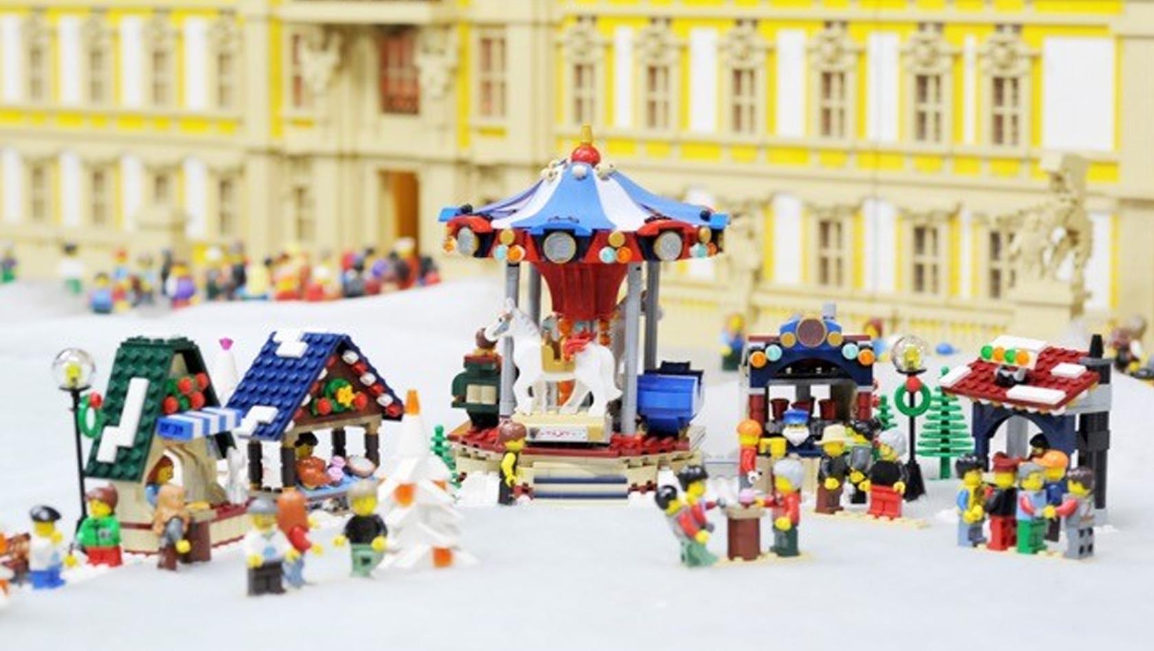 Lego Weihnachtsmarkt.Winterwunderland 2015 Im Legoland Discovery Centre Berlin Ab 14
