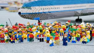 LEGOLAND Deutschland Flughafen-Abriss 2015