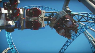 MACK Rides Launched Spinning Coaster