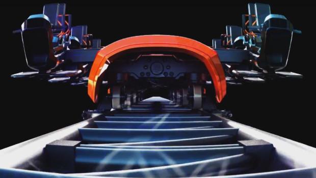 MAURER Wing Coaster Konzept