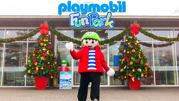 PLAYMOBIL-FunPark im Winter