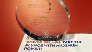 """""""Power Splash"""" beschert MACK Rides Award für bestes neues Konzept"""