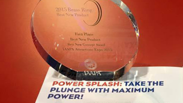 Power Splash - Mack Rides - Brass Ring Awards 2015