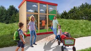 Ravensburger Spieleland - Ferienhaus-Konzept