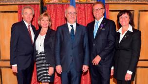 Roland Mack erhält Ordre des Palmes Académiques 2015