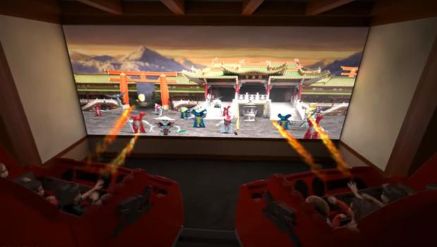 Triotech hand-free Interactive 4D Dark Ride