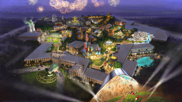 Twentieth Century Fox-Freizeitpark in Dubai - Artwork