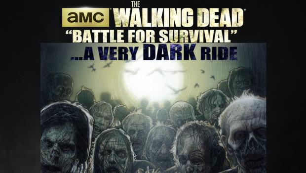 Walking Dead-Dark Ride von Sally Corp. - Konzept