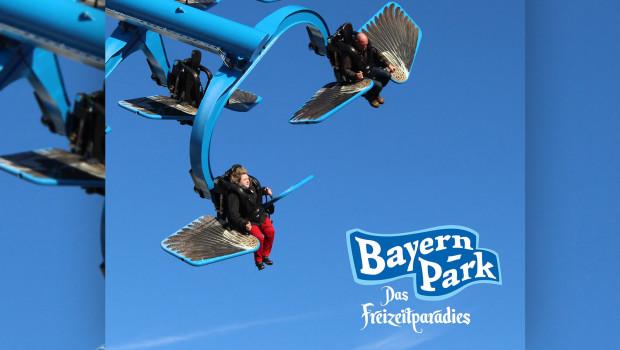 """Beim """"Duell der Adler"""" können Fahrgäste selbst bestimmen, wie intensiv die Fahrt wird. (Foto: Bayern-Park)"""