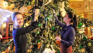 Europa-Park Swarowski Weihnachtsbaum 2015