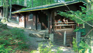 Camp des FORT FUN Abenteuerland bietet ab 2018 neue Familien-Blockhäuser