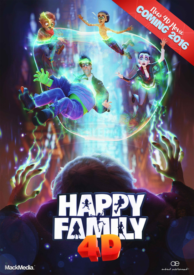Happy Family Film - Plakat