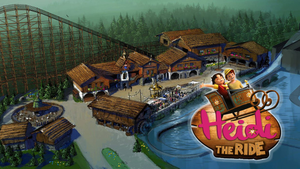 Heidi - The Ride im Plopsaland De Panne