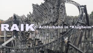 """Phantasialand – Mit """"RAIK"""" entsteht zweite Achterbahn in Themenwelt """"Klugheim"""""""