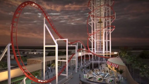 Skyplex wird Wirklichkeit: Höchste Achterbahn der Welt entsteht in Orlando