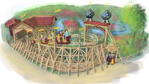 Der kleine Zar - Hansa-Park - Konzeptgrafik