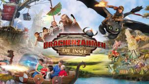 """Heide Park stellt neue Attraktionen 2016 im Themenbereich """"Drachenzähmen – Die Insel"""" vor"""