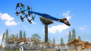 Duell der Adler Artwork - Bayern Park