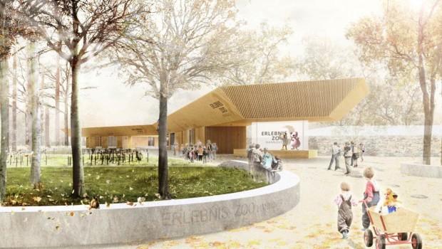 Erlebnis-Zoo Hannover Eingangsbereich-Konzept von Pape+Pape