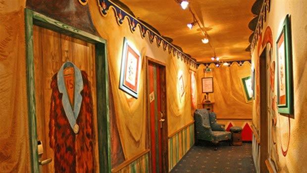 Gästehaus Circus Rolando im Europa-Park von innen