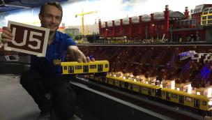 Weltweit erste LEGO U-Bahn fährt jetzt im Berliner LEGOLAND Discovery Centre