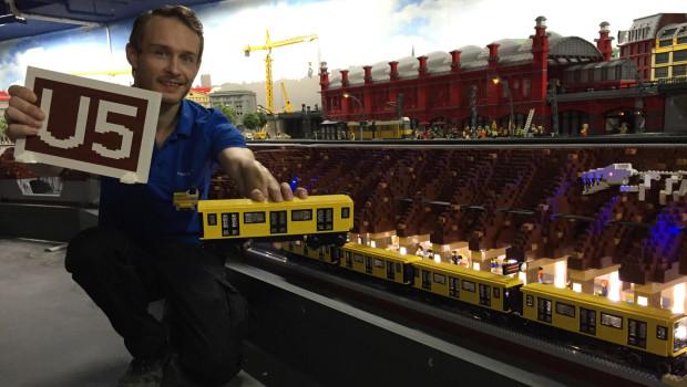 LEGO-U5 in Berlin ist fertig