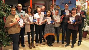 LEGOLAND Deutschland – Ehrung 26 langjähriger Mitarbeiter bei Neujahrsfeier 2016