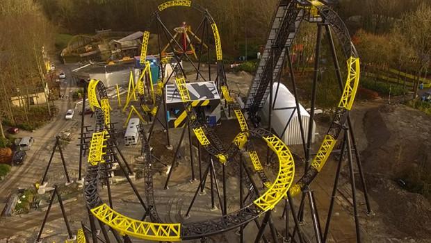 Lost Gravity Baustellenbild von Januar 2016