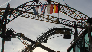 Lost Gravity - Schienenschluss in Walibi Holland