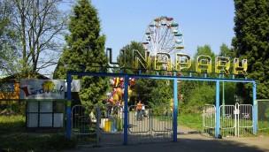 Lunapark Łódź in Polen, Eingang