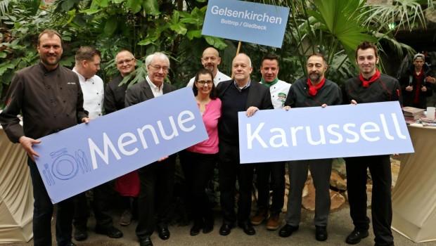 Menue Karussell in Gelsenkichen 2016