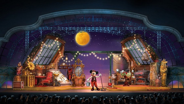 Micky und der Zauberer im Disneyland Paris