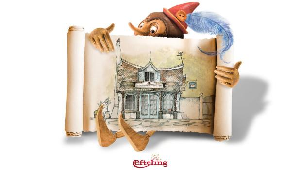 Pinocchio 2016 im Märchenwald von Efteling