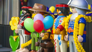 Fasching im Playmobil-Funpark