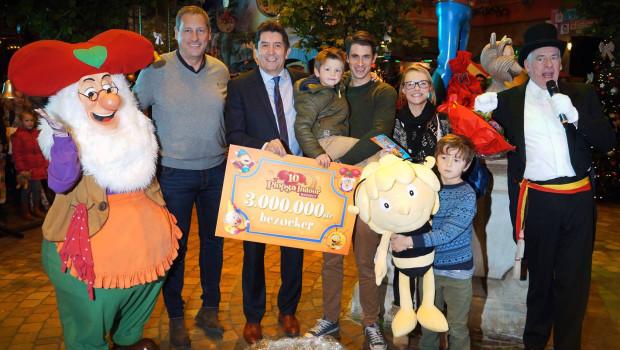 Plopsa Indoor Hasselt 3 Millionen Besucher