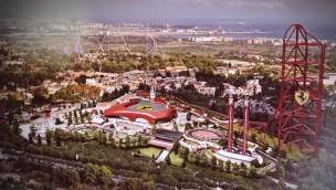 """Mehr als Europas höchste Achterbahn: PortAventura stellt Attraktionen für """"Ferrari Land"""" im Detail vor"""