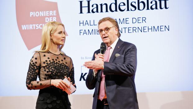 Roland Mack Hall of Fame Familienunternehmen 2016 Ehrung