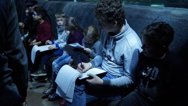 SEA LIFE Oberhausen Fischinventur 2016 - Junge Umweltschützer