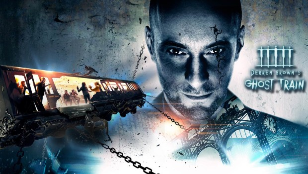 Thorpe Park - Derren Brown's Ghost Train - Artwork