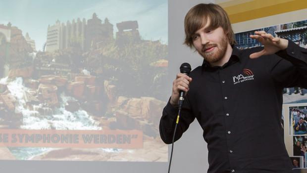 Xaver Willebrand von IMAscore bei der FKF Convention 2015