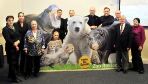 Zoo Rostock im Jahr 2016 – Ausblick auf tierische Neuigkeiten und POLARIUM-Baustart
